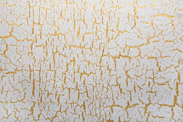 craclè bianco con fondo di colore oro