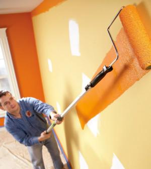 Imbiancare buccia arancia