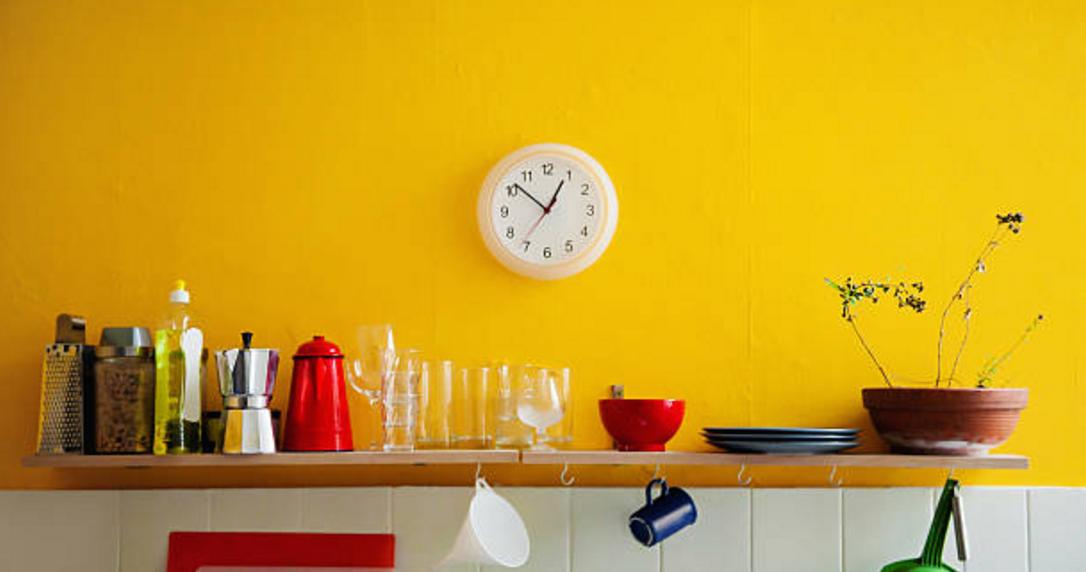 Esempio di un colore vintage tipico degli anni u with - Verniciare casa ...