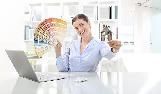 imbiancare ufficio scelta colori