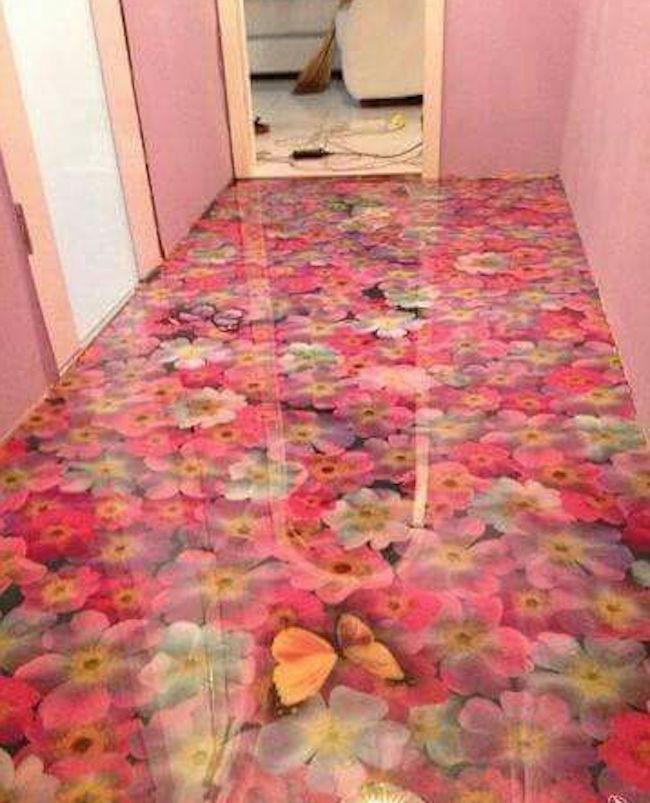 pavimento in resina a colata