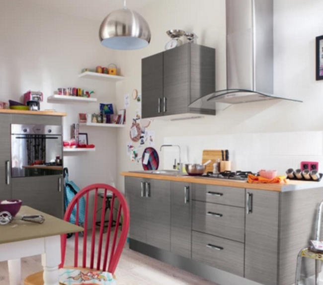 Cucina Leroy Merlin Delinia Urban: colorare le pareti della cucina ...