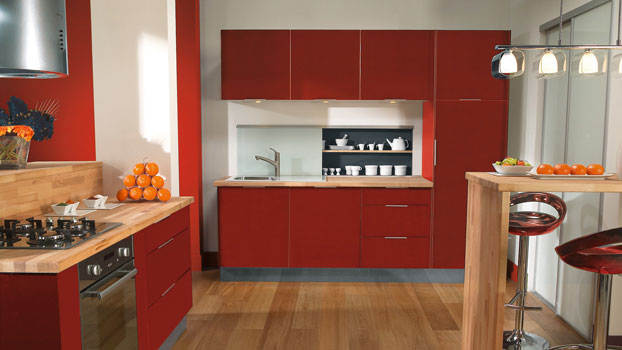 Cucina Leroy Merlin Delinia Marte: abbinare i colori delle pareti ...