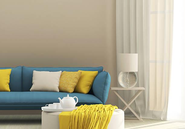 Idee per la scelta del colore delle pareti del soggiorno