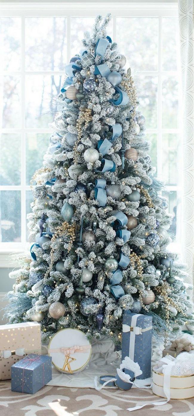 alberi di natale 2017 blu