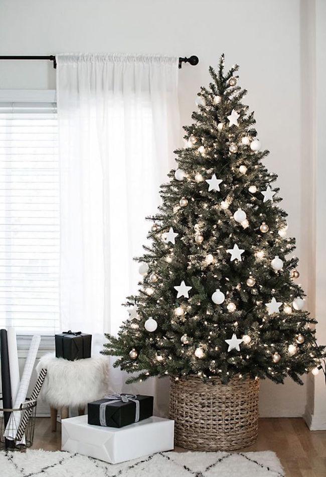 albero di natale 2017 con stelle