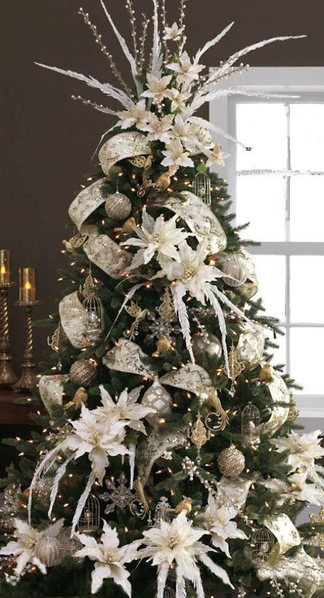 Alberi Di Natale Addobbati Eleganti.Tendenza Alberi Di Natale 2017 Www