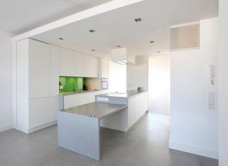 cucina bianca cartongesso
