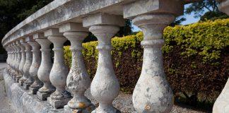 muschio recinzione cemento