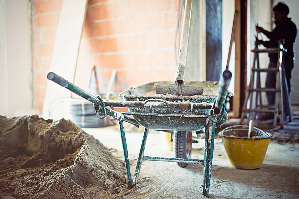 l'uso del cemento in cantiere