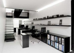 ufficio bianco
