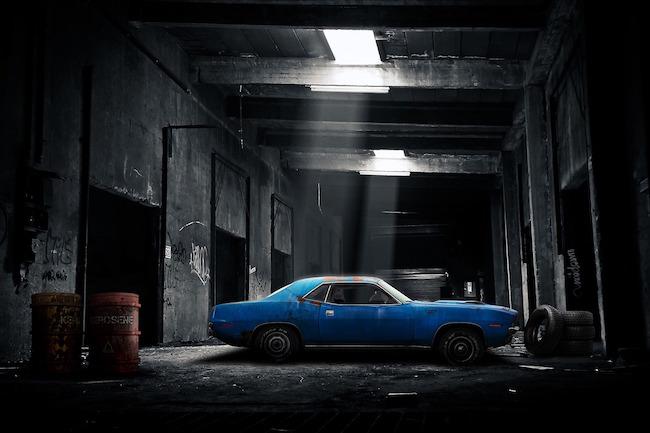 Garage seminterrato
