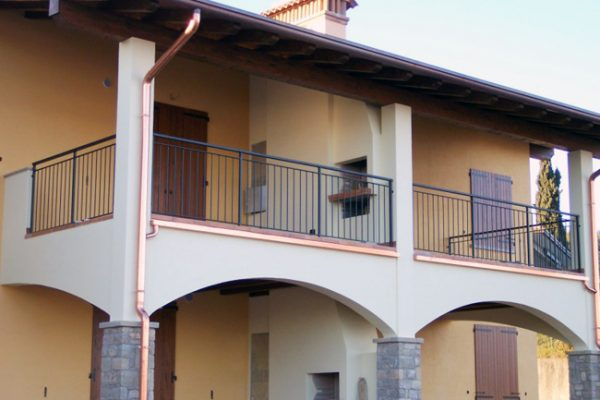 Chiusura del balcone