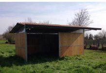Creazione di una stalla smontabile