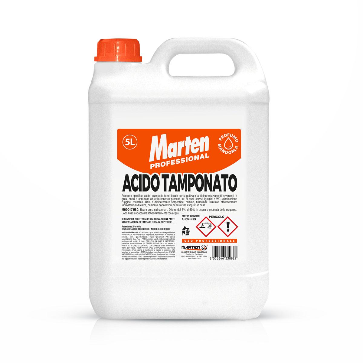 flacone di acido tamponato da 5 litri