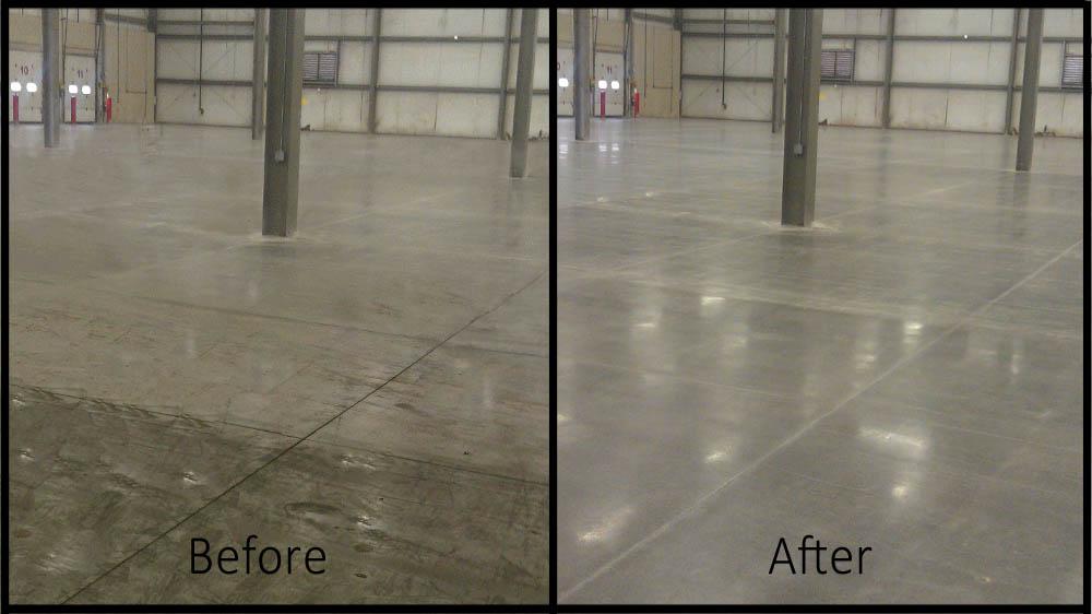 pulizia pavimenti con acido tamponato