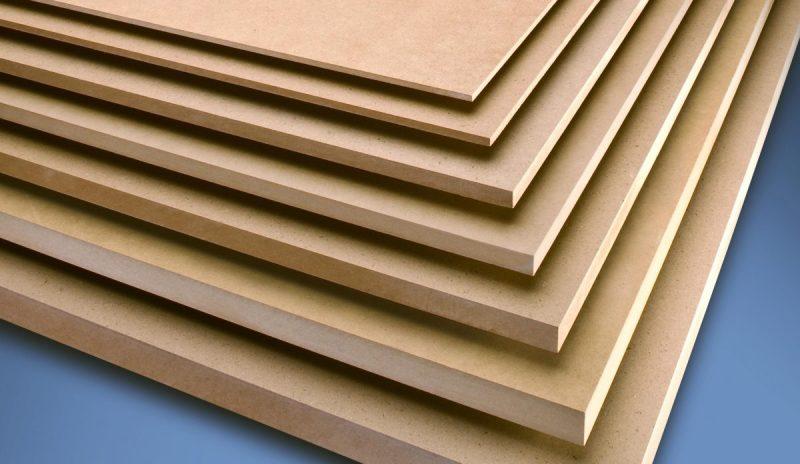 Spessori e tipologie del legno MDF