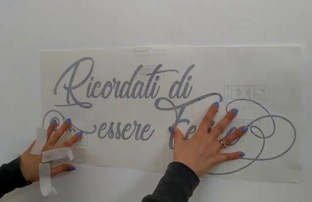 Adesivi murali fai da te detti stickers