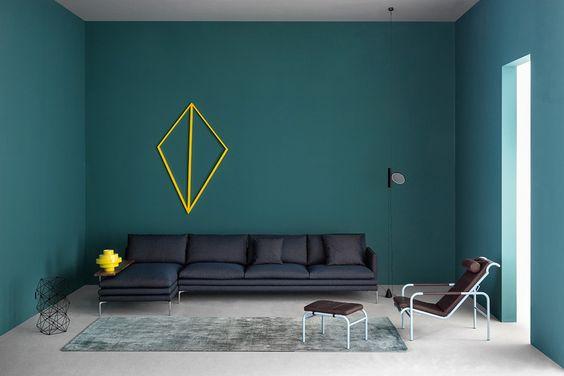 Ottanio, uno dei colori più eleganti della casa da abbinare ai toni neutri